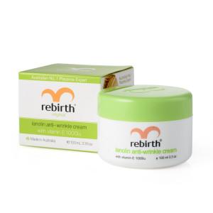 Rebirth Lanolin and Vitamin E Anti-Wrinkle Cream