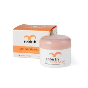 Rebirth Anti-Wrinkle Eye Gel with Vitamin E