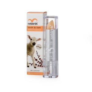 Lanolin Lip Balm with Vitamin E and Apricot Oil