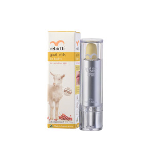Rebirth Goat Milk Lip Balm with Grapeseed & Acai Berry