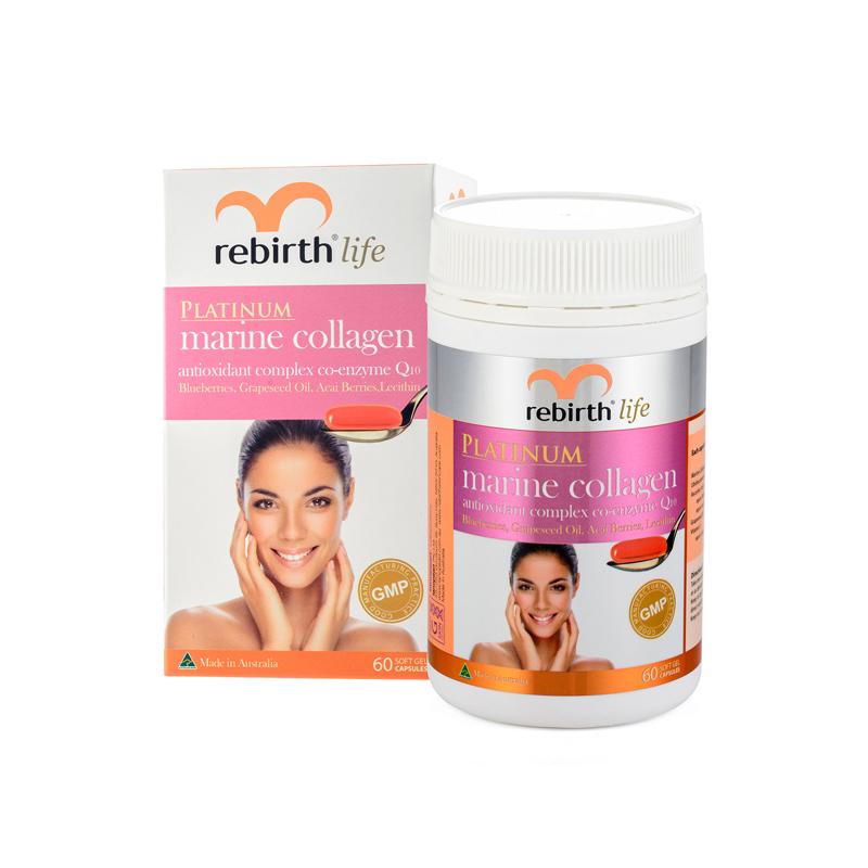 Rebirth Life Marine Collagen Antioxidant Complex Co-Enzyme Q10