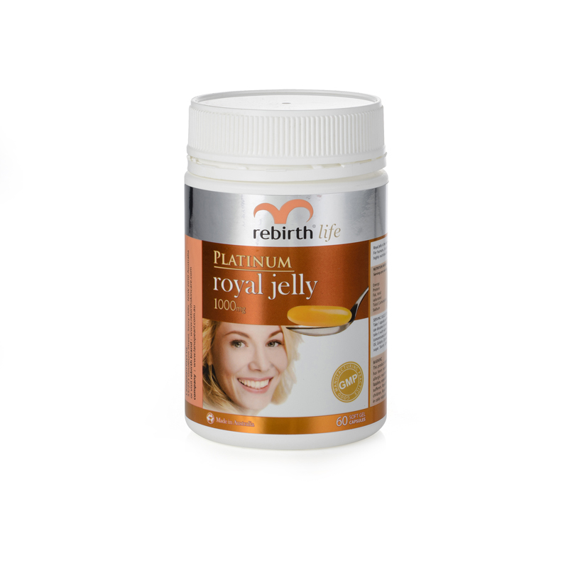Rebirth Life Platinum Royal Jelly