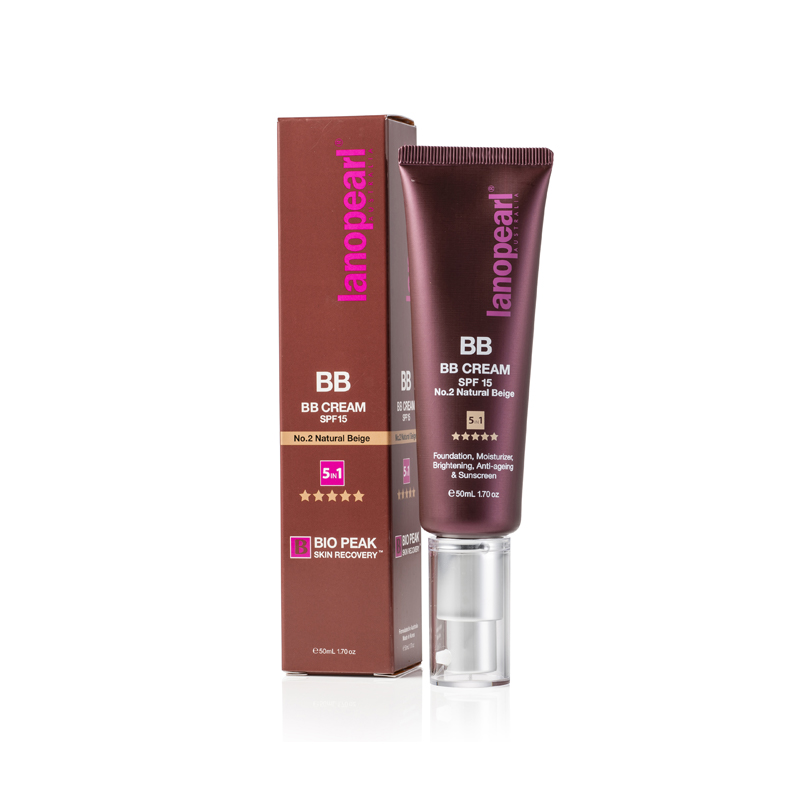 BB Cream SPF 15 No.2 Natural Beige 5 in l 50ML