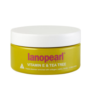 Lanopearl Vitamin E & Tea Tree Facial Cleanser