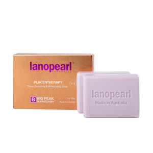 Lanopearl Placentherapy Soap
