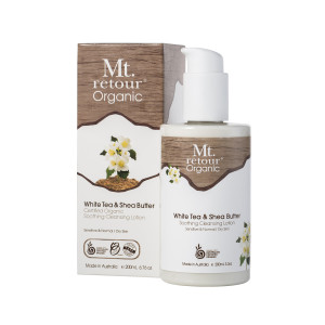 Mt. Retour Certified Organic White Tea and Shea Butter Cleanser