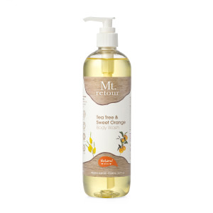 Mt. Retour Tea Tree and Sweet Orange Body Wash