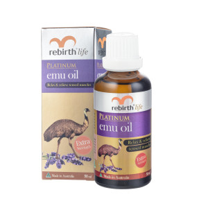 Rebirth Life Platinum High Strength Emu Oil