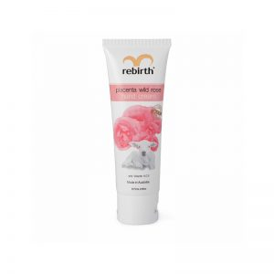 Rebirth Placenta Wild Rose Hand Cream with Vitamins A,C,E 75ML