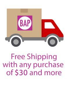 BAP Free Shipping Design Link