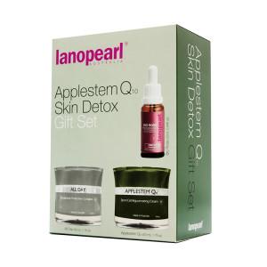 Lanopearl Applestem Ql0 Skin Detox Gift Set