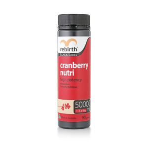 Rebirth Black Label Cranberry Nutri